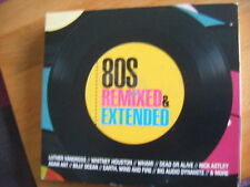 80s Remixed & Extended [2016] - 3 cd digi pack - VG