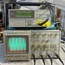 Tektronix 2467 350 Mhz 4 Channel Analog Oscilloscope Good Condition