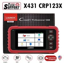 LAUNCH X431 CRP123X OBD2 Code Reader Car Scanner Tool ABS SRS Better CRP123 VII+