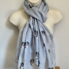 More details for bernese mountain dog print ladies scarf new design shawl wrap lovely gift