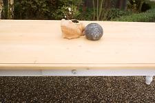 Esstisch Massivholz Landhaustisch Esszimmer Küche 150 cm M03 weiß natur Neu