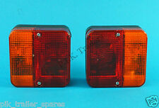 FREE P&P* 2 x Perei 4 Function Small Trailer Lamp - Cycle Carrier & Trailer  #TR