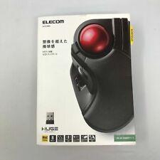 ELECOM Wireless Trackball Mouse - Extra Large Ergonomic Design 8-Button