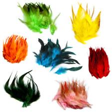 Gefärbte Federn zu 50 Stück 10-15cm zum Basteln,Verzieren, Dekorieren für Kinder