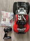 TRAXXAS SLASH 4X4 MODDED CASTLE CREATION MOTOR RTR RC TRUCK RED W/TSM #25 1/10
