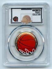 2020 S 50C Colorized Basketball Commemorative PCGS PR69DCAM Private Collection