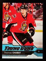 THOMAS CHABOT - 2016-17 UPPER DECK YOUNG GUNS CARD ROOKIE# 488
