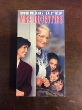 Mrs. Doubtfire (1993, VHS) Robin Williams VHSshop.Com Pre Owned