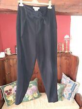 """Barely Worn Nicol Farhi Highwaist Ankle Glazer Black Trousers 12 W30""""L28"""""""