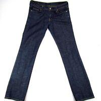 COH Citizens of Humanity Women's Jeans Straight Leg Sz 31 x 33 Ava 142 Low Waist