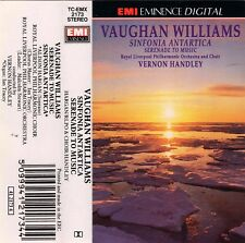 VAUGHAN WILLIAMS SINFONIA ANTARTICA + SERENADE TO MUSIC Vernon Handley RLPO EMI