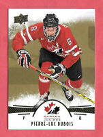 2016-17 Pierre-Luc Dubois Upper Deck Team Canada Juniors Gold #58 - Blue Jackets