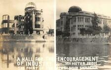 Hall For Encouragement of Industry Atomic Bomb Explosion Hiroshima Vintage Photo