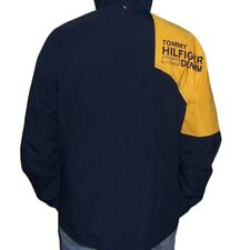 TOMMY HILFIGER Mens Sport Running Windbreaker  Jacket...
