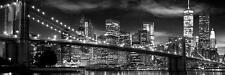 Nueva York: la libertad Torre B&W - vista/cartel de la puerta 158cm X 53cm (nuevo Y Sellado)