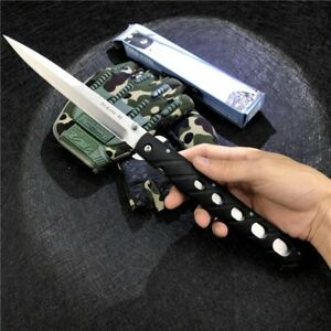 Cold Steel 26SXP XL 6 Folding Knife Stiletto Sword pocket knife Outdoor