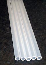 Qty 5 Rigid Polypropylene Tubing 38 Od X 14 Id X 9625 L Plastic Tube Pipe