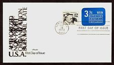 #U589 3.1c Authorized Non-Profit, Artmaster FDC **ANY 4=FREE SHIPPING**