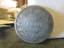 france piece monnaie coin 1840 A argent   9616