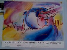 Peter Max Poster - Angel
