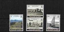 FALKLAND ISLANDS SG1008/11, 2005 CAMBER RAILWAY, MNH, CAT £12