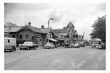 bb0121 - Barnton Railway Station , near Cramond Bridge, Edinburgh in 1962 photo