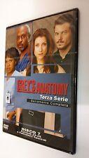 Grey's Anatomy DVD Serie Televisiva Stagione 3 Volume 7 - Episodi 2 + Speciali