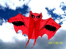 "Bat Kite,Orange:54""W x 33.5"" H, Outdoor Family Wind Toy, Gift, Halloween Decor"
