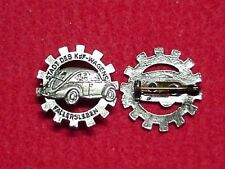 German WWII Volkswagen Factory Pin