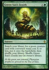 Green Sun's Zenith FOIL | NM | Mirrodin Besieged | Magic MTG