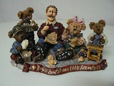 Boyds Bearstones 1998 Limited Edition - Work Is Love Made Visible - New 5th Annv