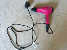 Babylis purple travel hair drier used type s227a