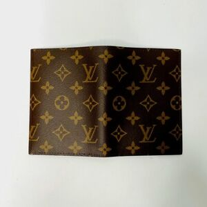 LOUIS VUITTON LV Passport holder Passport cover Authentic cover France