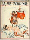 1925 La Vie Parisienne L'ETALON D'OR France Travel Advertisemnt Poster