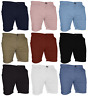 Mens Stretch Chino Shorts Summer Cotton Cargo Combat Casual Jeans Half Pant