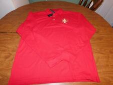 2009 Inaugural Presidential Conference LS Polo, Men's Sz Large, Red, New w/Tags