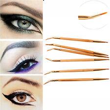 Pincel De Delineador Cepillo De Sombra Ojos Brochas De Maquillaje Para Mujer