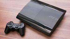 SONY PLAYSTATION 3 Consola Super Slim 500GB. Negra. Se entrega con mando