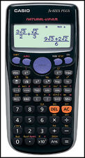 Brand New Casio Scientific Calculator FX-82ES Plus Black J01