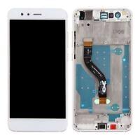 Ecran complet Huawei P10 Lite Noir/Blanc LCD+ Vitre Tactile Sur Châssis Original