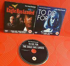 TO DIE FOR + THE EAGLE HAS LANDED DVD NICOLE KIDMAN MATT DILLON JOAQUIN PHOENIX