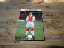 FRANK DE BOER (2) FC BARCELONA HOLLAND - AJAX AMSTERDAM AUTOGRAPHCARD **