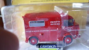 miniature camion pompier prompts secours citroen 1/43
