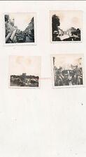 4 x Foto, Lkw Transport nach Paris, 1940 (N)20082