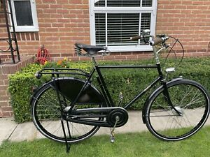 """Pashley Roadster Sovereign Black Gents Traditional Bicycle 22.5"""""""