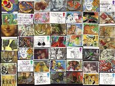50 ALL DIFFERENT GREAT BRITAIN  GREETINGS  STAMPS