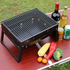 Foldable Outdoor Camping Wood Stove Picnic BBQ Grill Stainless Steel  J K
