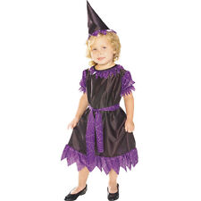 Purple Witch Kids Costume Toddler ( Size 2-4 ) 11518