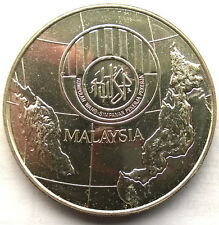 Malaysia 1976 Employee Provident Fund 25 Ringgit 1oz Silver Coin