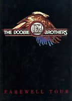 DOOBIE BROTHERS 1982 FAREWELL TOUR CONCERT PROGRAM BOOK BOOKLET / NMT 2 MINT